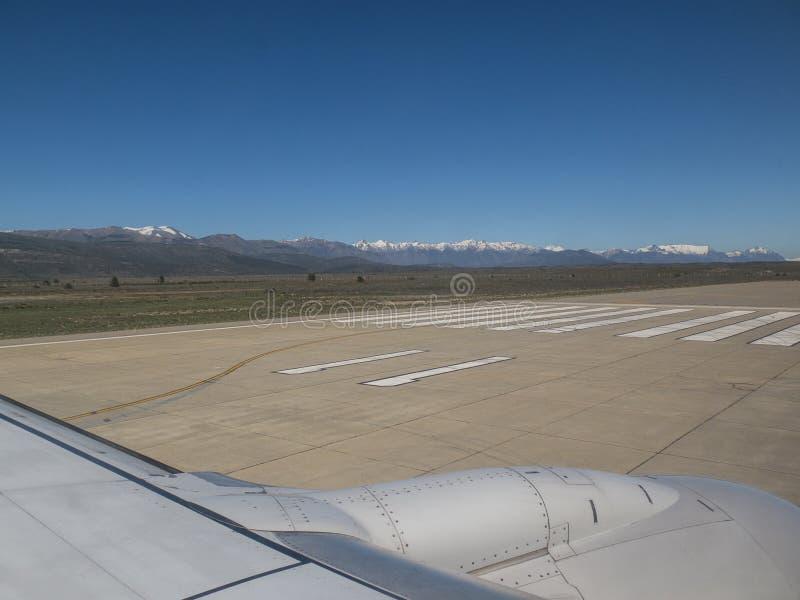 Ankommen im Patagonia lizenzfreie stockfotos
