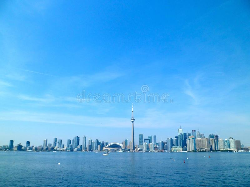 Ankommendes Toronto lizenzfreies stockfoto