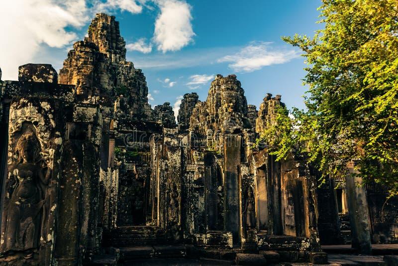 Ankor потерянный город стоковые изображения