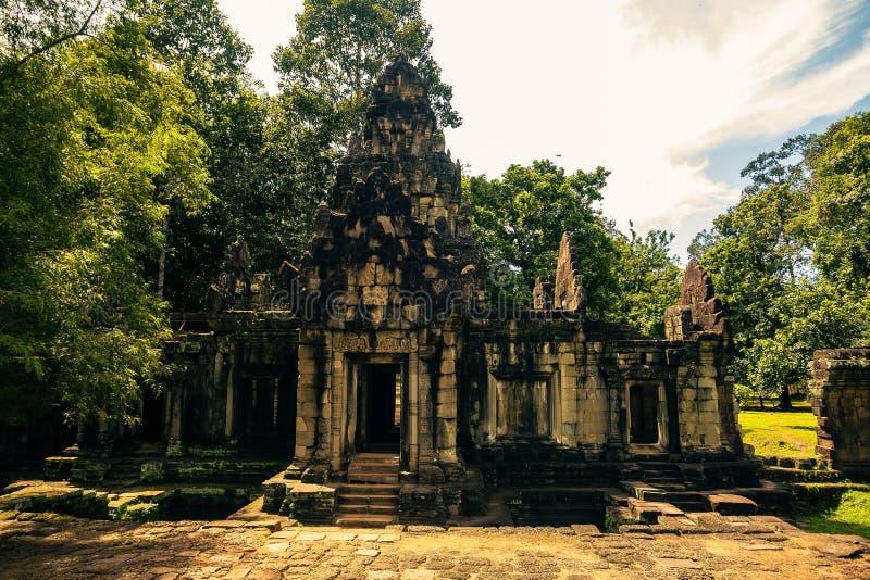 Ankor la ville perdue photo libre de droits