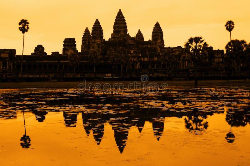 Ankor Wat lizenzfreies stockbild