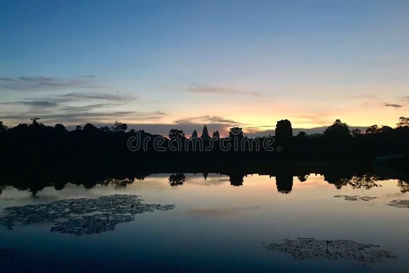 Ankor Wat royalty free stock image