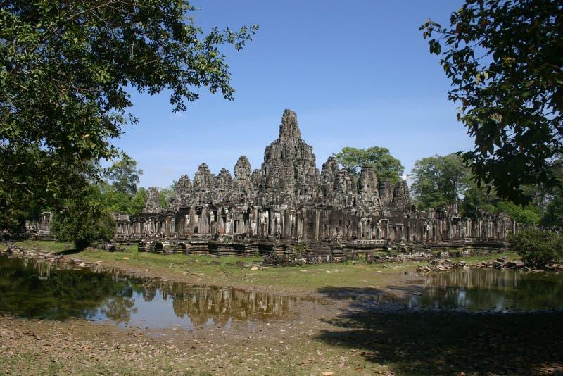 Ankor Wat, Cambodge images libres de droits
