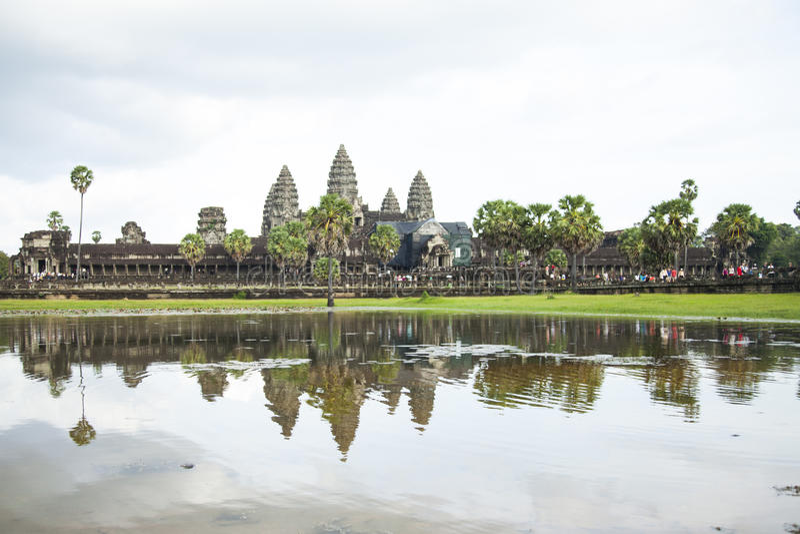 Ankor Wat, Cambodia foto de stock royalty free