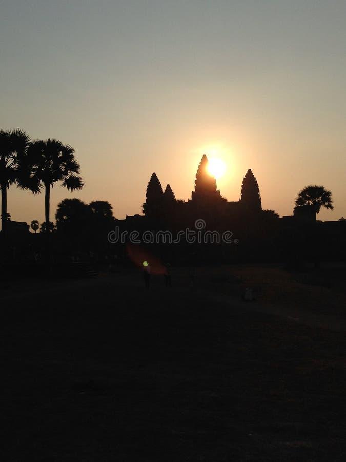 Ankor Wat, Kambodja royalty-vrije stock foto