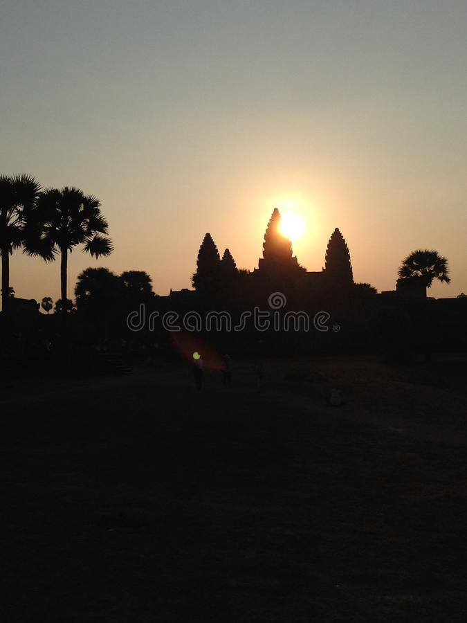 Ankor Wat, Kambodscha lizenzfreies stockfoto