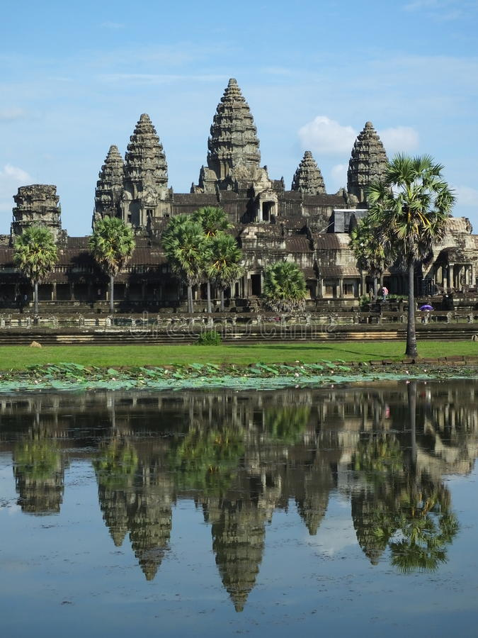 Ankor Wat, Siem Reap, Cambodia royalty free stock photography