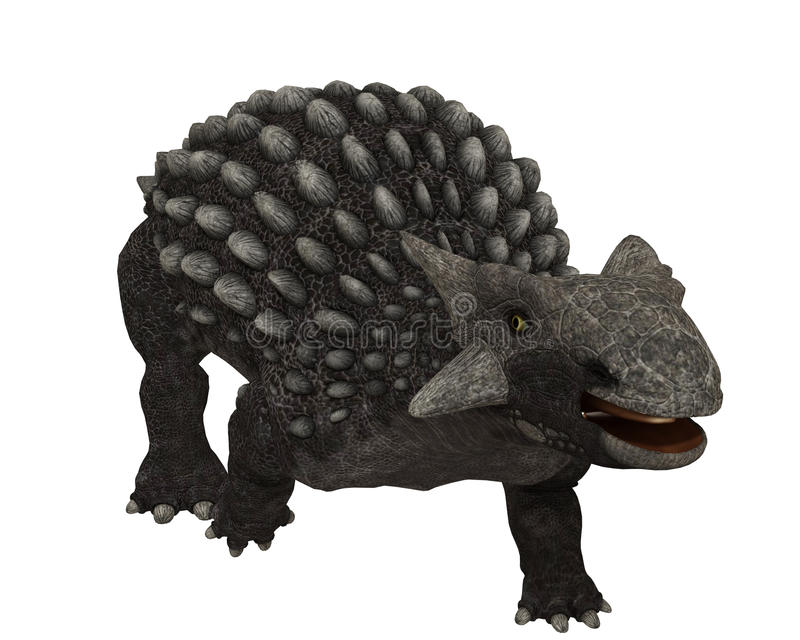 Ankylosaurus royalty ilustracja