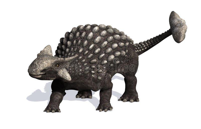 Ankylosaurus ilustración del vector