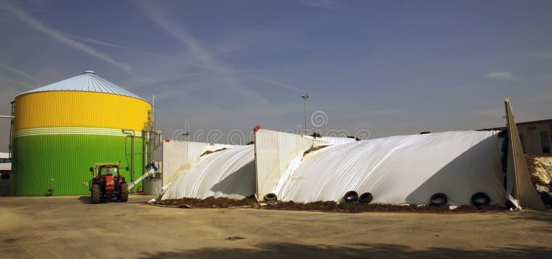 Anlage: Biorenewable Energie stockfotografie