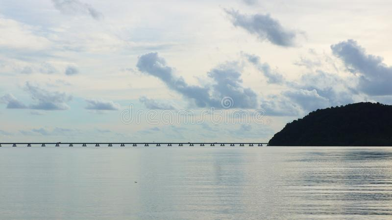 Anlegestelle Batu Musang lizenzfreies stockbild