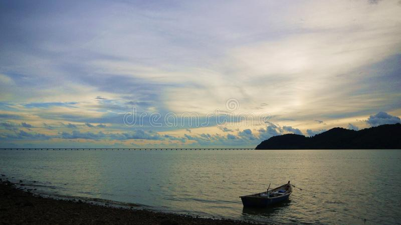 Anlegestelle Batu Musang lizenzfreie stockbilder