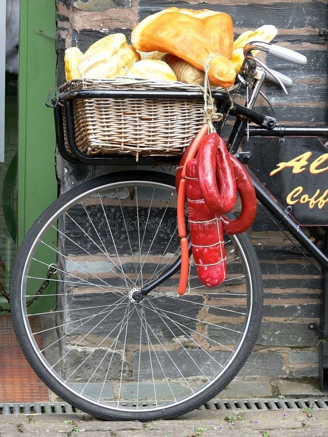 Anlieferungs-Fahrrad lizenzfreies stockfoto