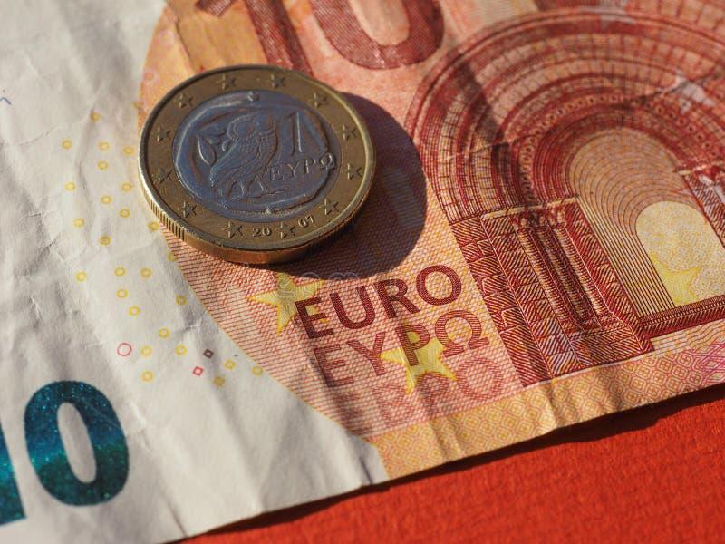 anmärkning för euro 10, europeisk union royaltyfri fotografi