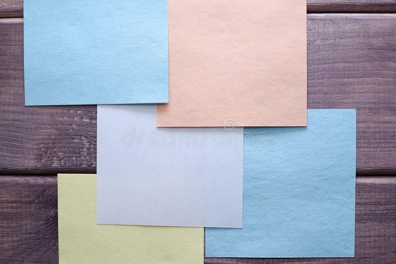 Anmärkning minneslista, anteckning arkivbild