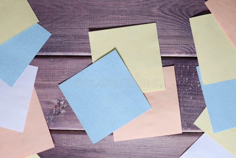 Anmärkning minneslista, anteckning arkivfoto
