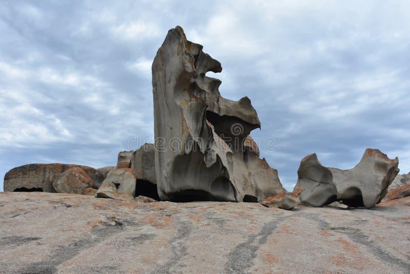 anmärkningsvärda rocks royaltyfri fotografi