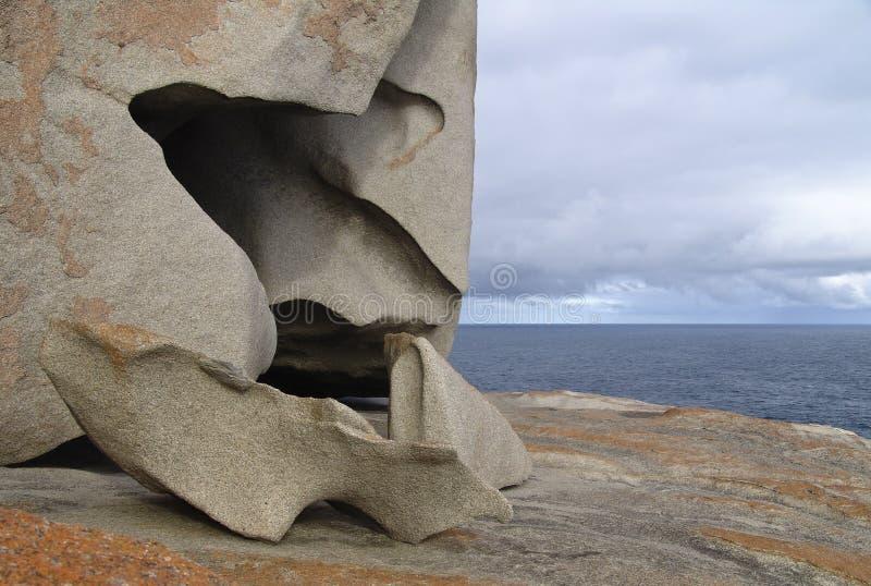 anmärkningsvärda rocks royaltyfri bild