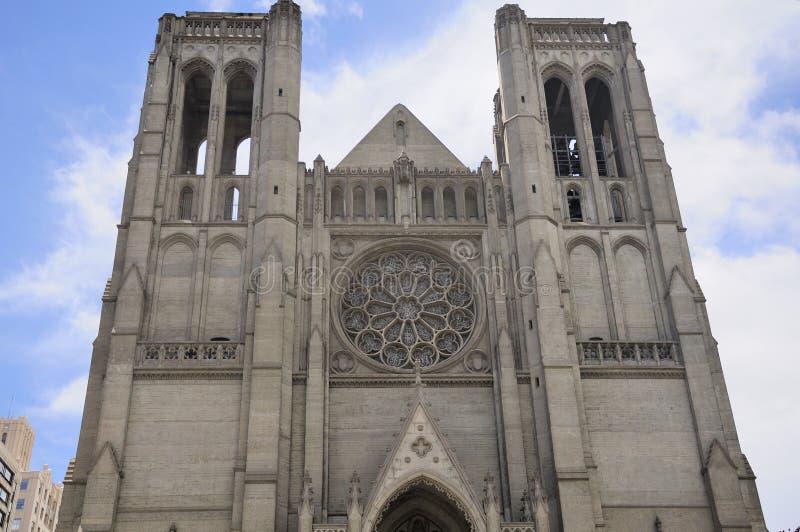 Anmut-Kathedrale San Francisco lizenzfreies stockbild