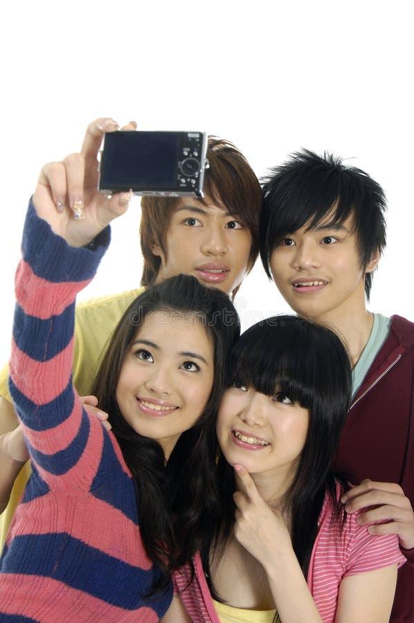 années de l'adolescence asiatiques photos libres de droits