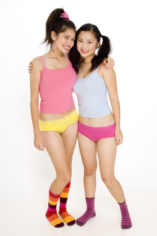 Années de l'adolescence colorées image stock