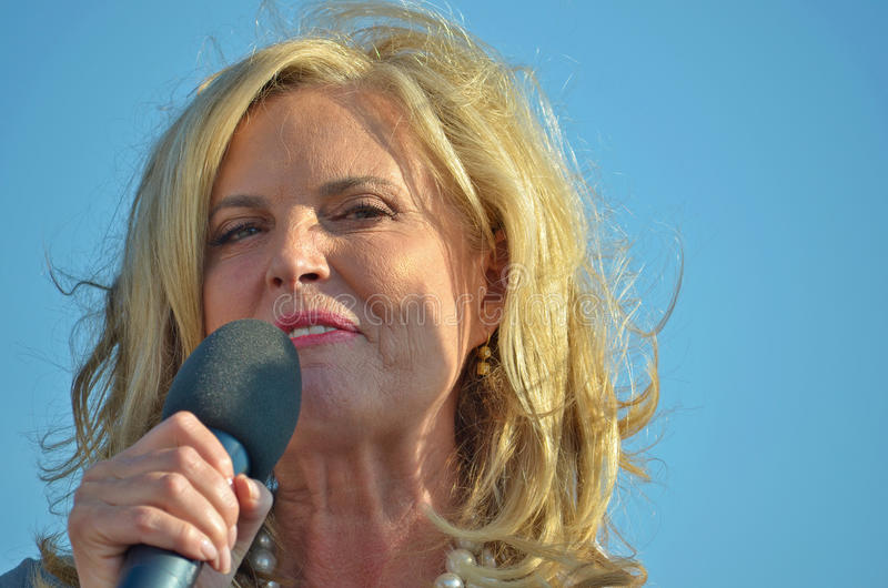 Ann Romney royalty free stock image