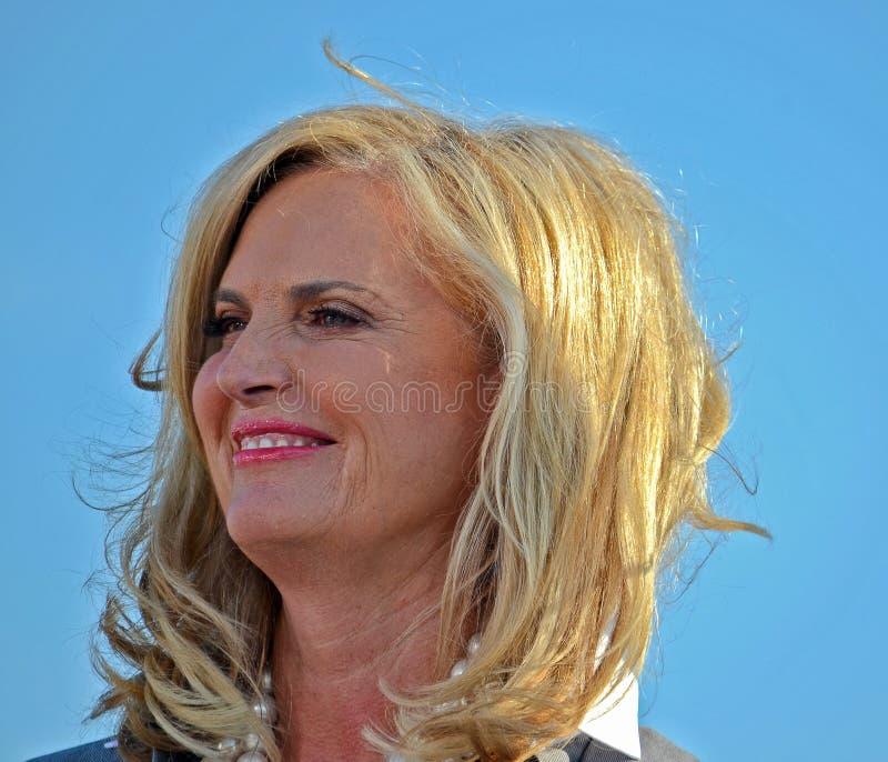 Ann Romney royalty free stock photos