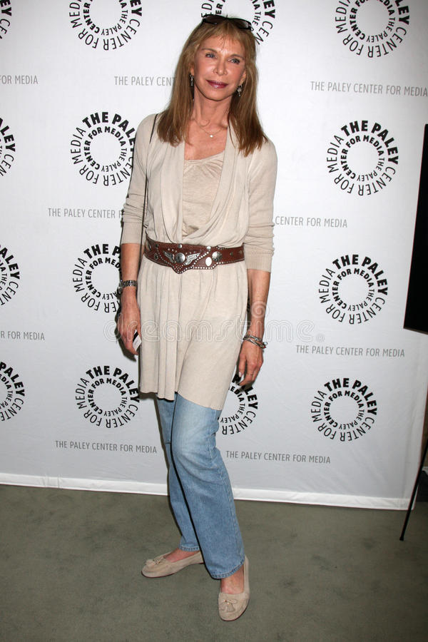 Ann Turkel. Arriving at the world premiere screening of 'Farrah's Story' at the Paley Center for Media in Beverly Hills, CA on May 13, 2009 2009 Kathy Hutchins stock image