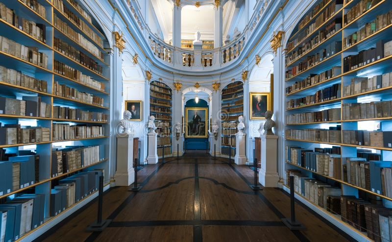 Duchess Anna Amalia's library in Weimar, Germany stock image