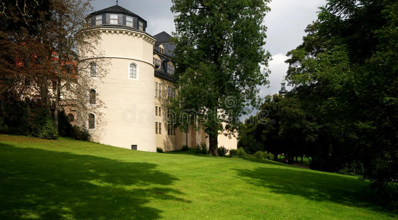 Anna Amalia Library em Weimar fotografia de stock