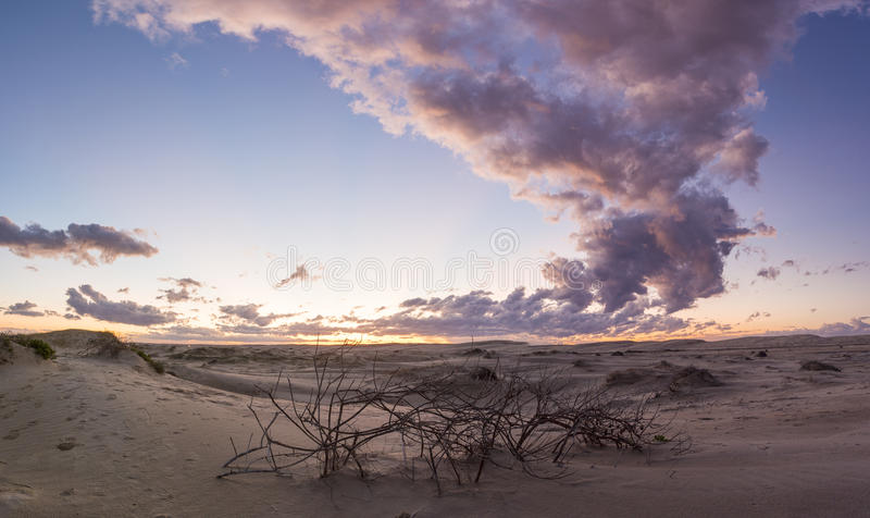 Anna Bay - Hafen Stephens Australia lizenzfreie stockfotos