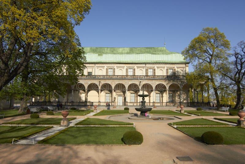 anna belwederu pałac królowej s lato obrazy stock
