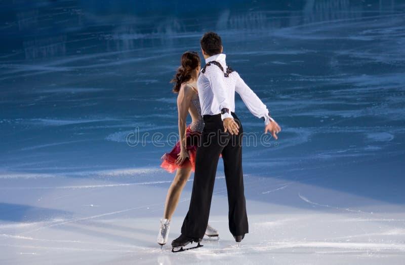 Anna Cappellini et Luca Lanotte photo libre de droits