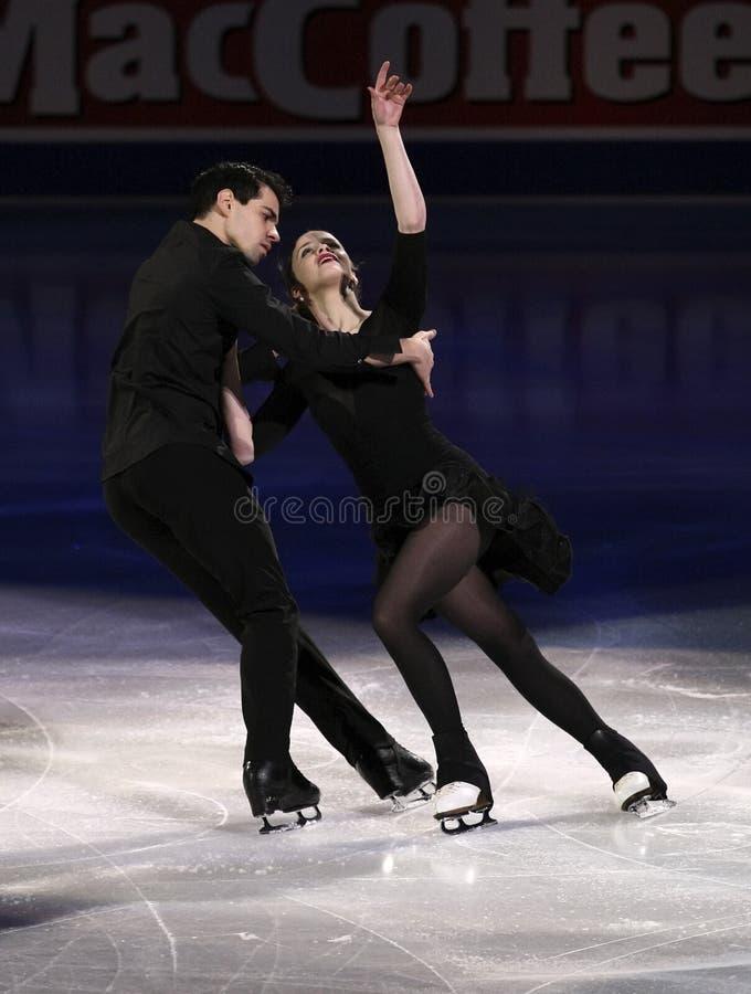 Anna CAPPELLINI Luca/LANOTTE (ITA) zdjęcia royalty free
