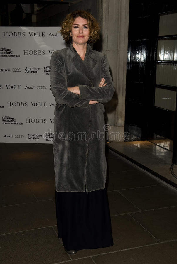Anna Chancellor. Arriving for The Evening Standard Theatre Awards 2011, Savoy Hotel London. 20/11/2011 Picture by: Simon Burchell / Featureflash stock images