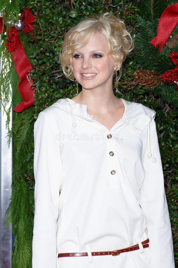 Anna Faris royalty-vrije stock foto