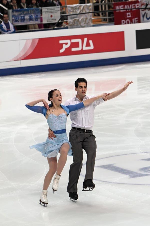 Anna JoAnn Cappellini und Luca Lanotte lizenzfreies stockbild