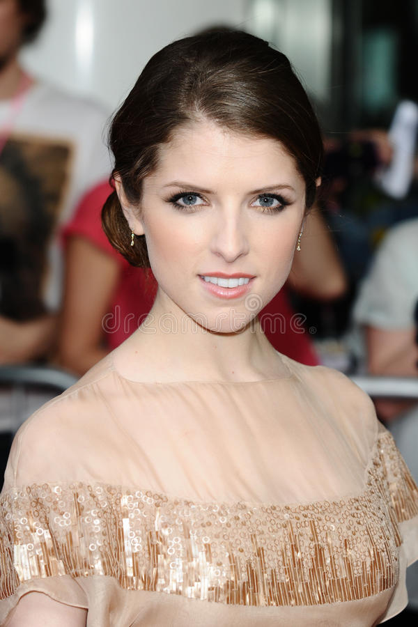 Download Anna Kendrick editorial stock photo. Image of arriving - 25374123