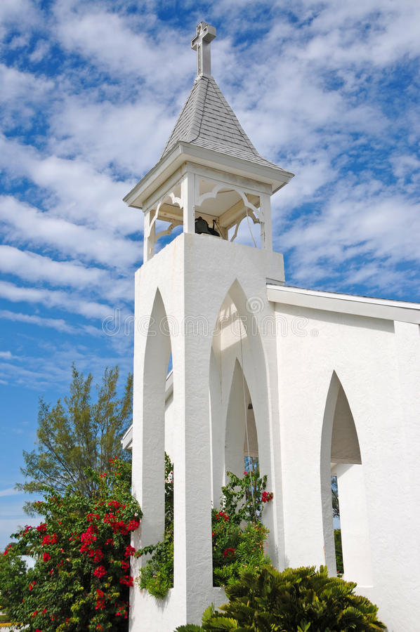 Anna Maria Island Church royalty-vrije stock foto