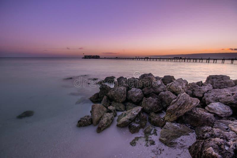 Anna Maria Island Pier fotografia stock