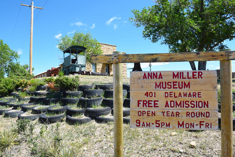 Anna Miller Museum fotografia stock