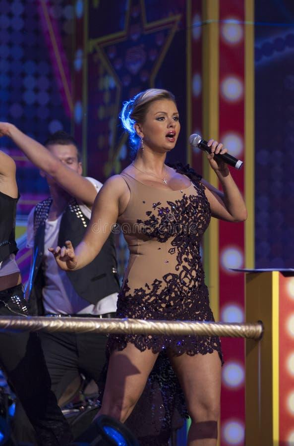 Anna na scenie Semenovich fotografia stock