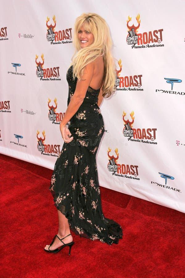 Anna Nicole Smith foto de archivo libre de regalías