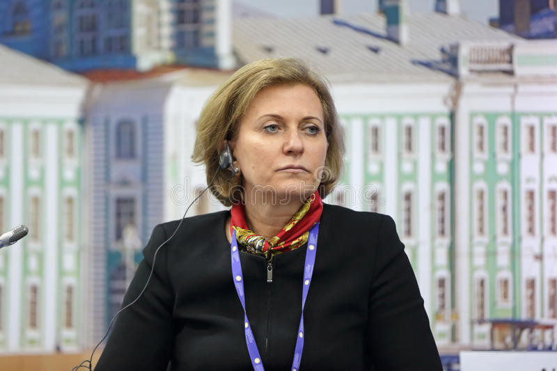 Anna Popova royalty-vrije stock afbeelding