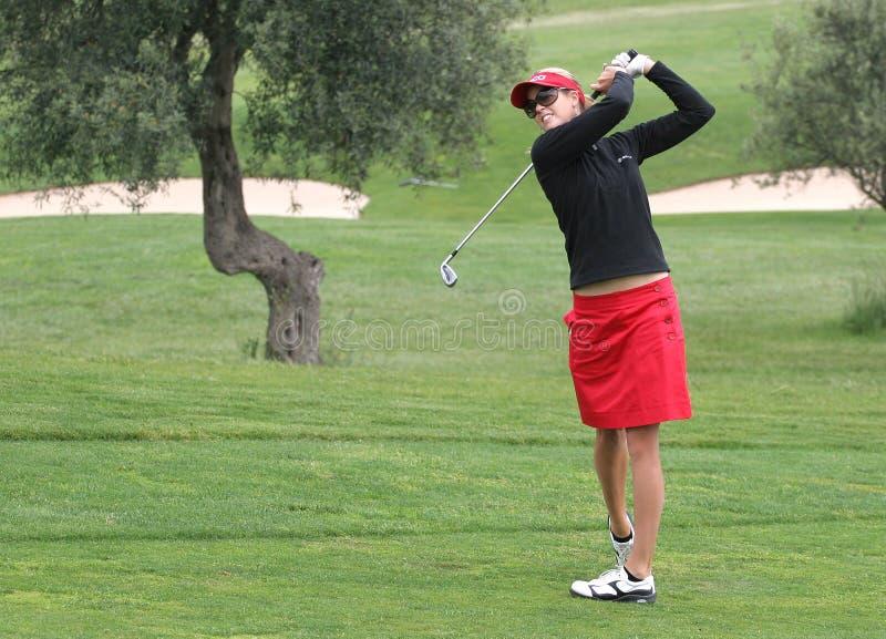 Anna Rawson, de Europese Reis van de Dames van het golf stock afbeelding