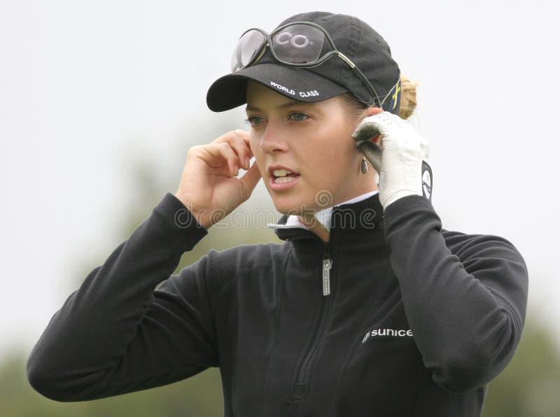 Anna Rawson, golf Ladies European Tour, stock images