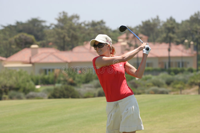 Download Anna Rawson, Portugal Ladies Open 2007, Oitavos Editorial Photography - Image: 4374357