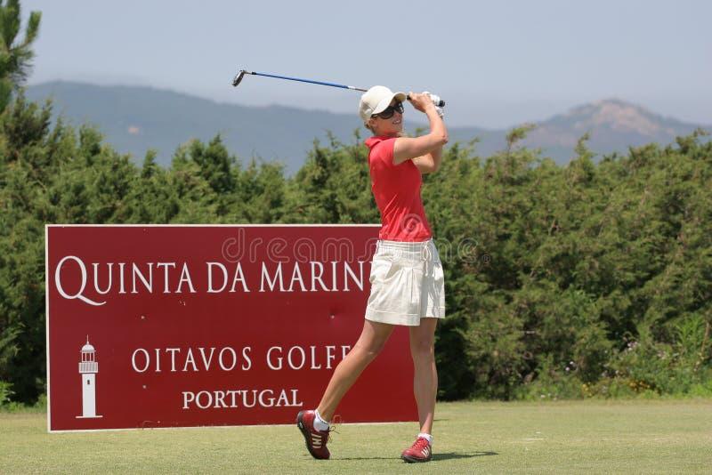 Anna Rawson, senhoras de Portugal abre 2006, Oitavos imagens de stock