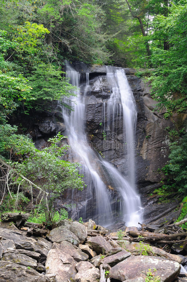 Anna Ruby Falls stock photography