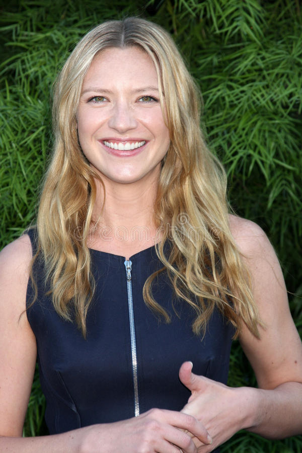 Anna Torv. LOS ANGELES - JUN 23: Anna Torv arriving at the 2011 Saturn Awards at Castaways on June 23, 2011 in Burbank, CA royalty free stock photography